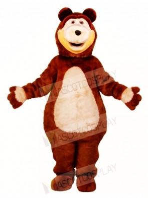 Brown Bear Mascot Costumes Animal
