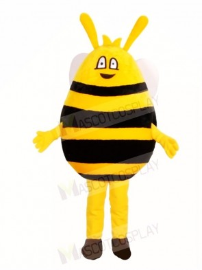 Yellow and Black Bee Mascot Costumes Insect