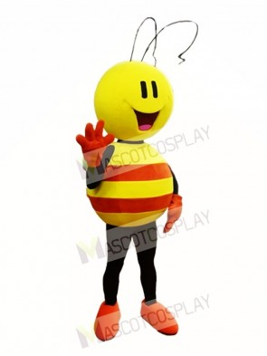 Yellow and Orange Bee Mascot Costume Insect Mascot Costumes
