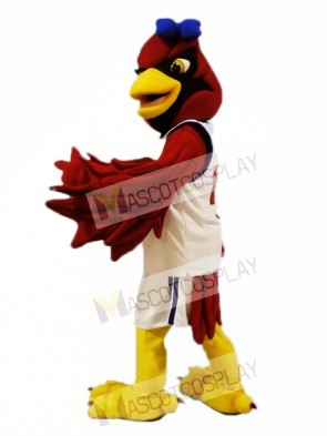 Female Red Cardinal Mascot Costumes Bird
