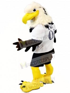 Grün Adler Falke Maskottchen Kostüme Tier