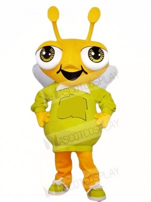 Yellow Bug Mascot Costumes Insect