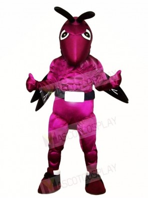 Purple Hornet Bee Mascot Costumes Insect