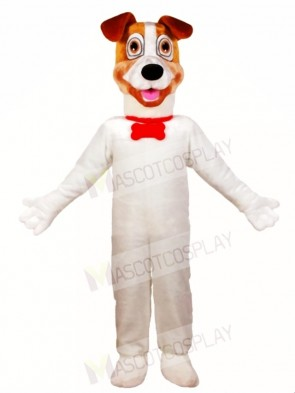 White Dog Mascot Costumes Animal