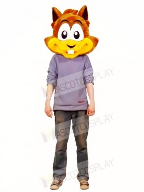 Chipmunk Head Only Mascot Costumes Animal
