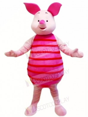 Pink Piglet Pig Mascot Costumes Animal