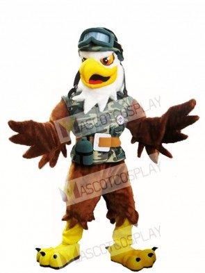 Brown Eagle Mascot Costume Eagle Mascot Costumes