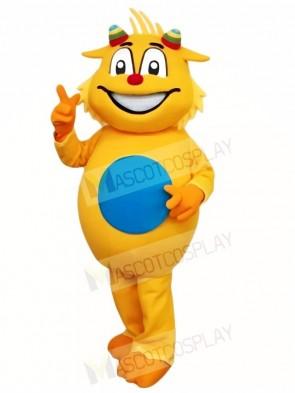 Yellow Dragon Mascot Costumes