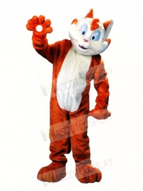 Paw the Cat Mascot Costumes Animal