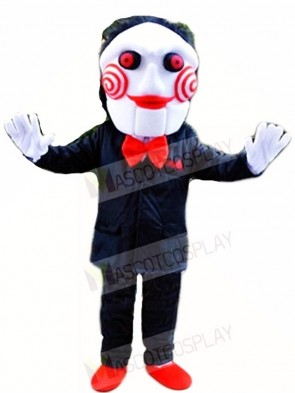 Billy the Jigsaw Puppet from Saw Mascot Costumes Scary Movie
