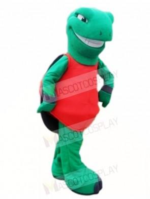Green Terrapin Tortoise Turtle Mascot Costumes Sea