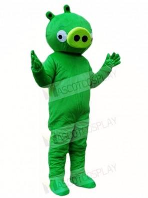 Green Pig Mascot Costumes Animal