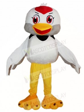 White Bird Mascot Costumes Animal