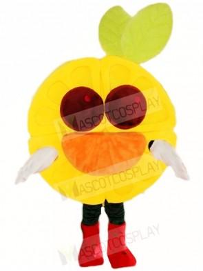 Brown Eyes Orange Mascot Costumes Fruit