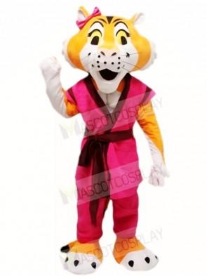 Kung Fu Tiger Tigress Mascot Costumes Animal