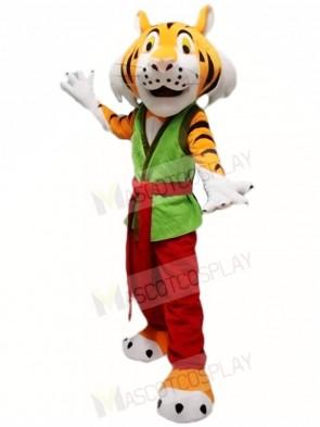 Kung Fu Tiger Mascot Costumes Animal