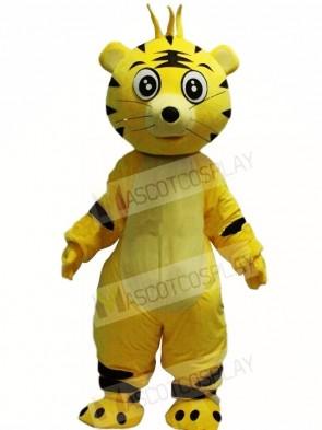 Cartoon Tiger Mascot Costumes Animal