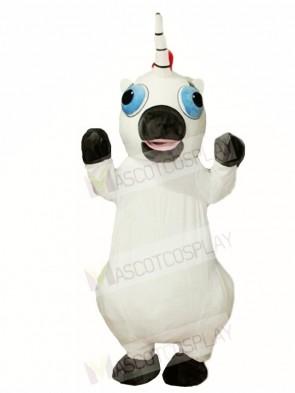 White Unicorn Mascot Costumes
