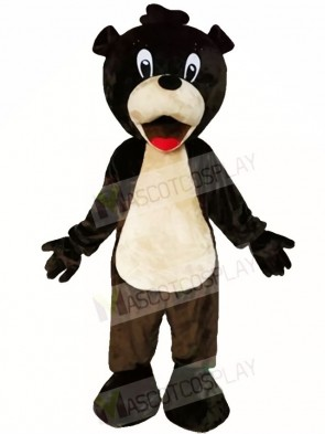 Red Tongue Brown Bear Mascot Costumes Animal