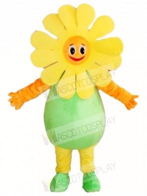 Sunflower Mascot Costumes Plant