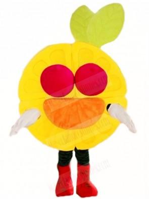 Red Eyes Orange Mascot Costumes Fruit