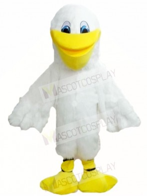 White Pelican Bird Mascot Costumes Animal
