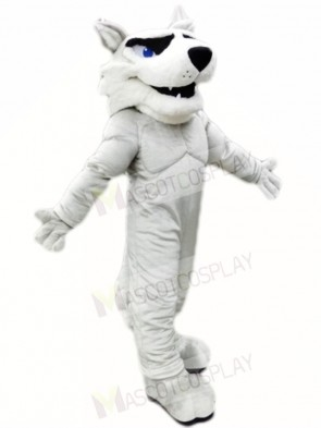 Grey Husky Dog Mascot Costumes Animal