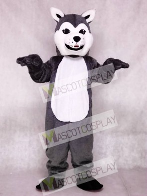 New Lovely Friendly Husky Dog Mascot Costumes Animal