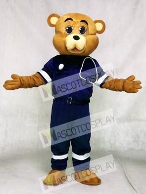 Doctor Bear Mascot Costumes Animal