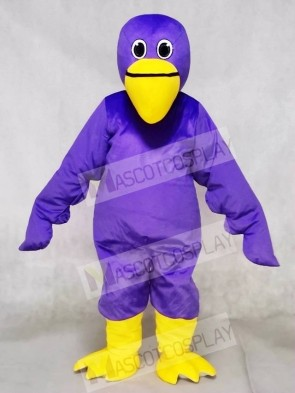 Purple Pelican Bird Mascot Costumes Animal