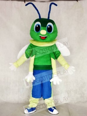 Green Firefly Mascot Costumes Insect