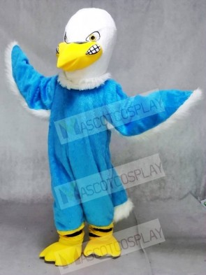 Blue Fierce Eagle Mascot Costumes Animal
