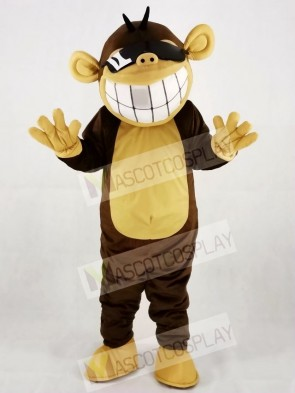 Funny Happy Monkey Mascot Costumes Animal