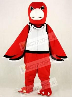 Red Warhawk Hawk Mascot Costumes Animal