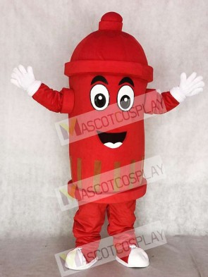 Red Public Utilities Fire Hydrant Mascot Costumes