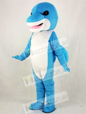 Blue Shark Mascot Costumes Sea