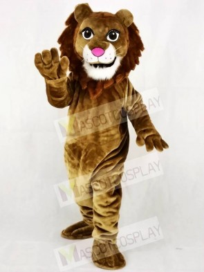 Realistic Friendly Lion Mascot Costume Animal