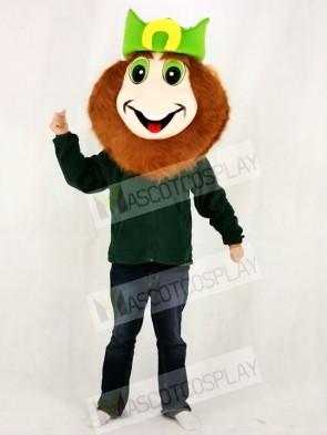 Leprechaun Head ONLY Mascot Costume for St Patricks Day