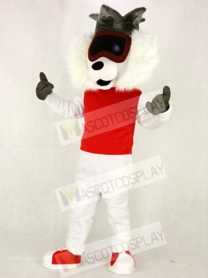 Red Vest Alley Cat Mascot Costumes Animal