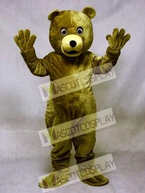 Brown Baxter Bear Mascot Costume Animal