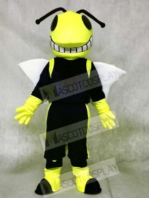 Yellow and Blue Hornets Mascot Costumes Insect