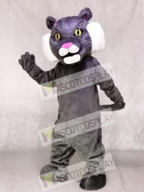 Gray Bobcat Cat Mascot Costumes Animal