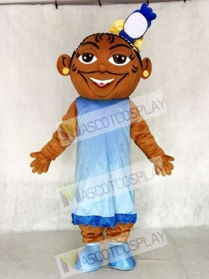 Music Girl DJ Girl Mascot Costume