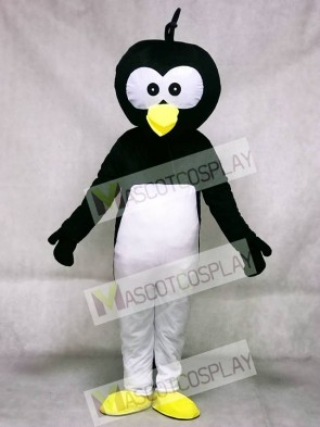 Black Head Penguin Mascot Costume Animal