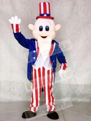 Uncle Sam US Mascot Costumes People
