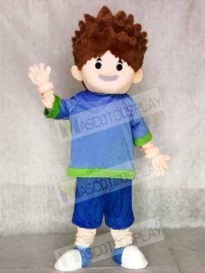 Smart Boy Adult Mascot Costumes People