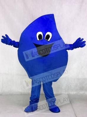 High Quality Realistic New Blue Raindrop Sea Water Drop Plush Mascot Costume