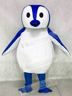 Blue and White Penguin Mascot Costumes