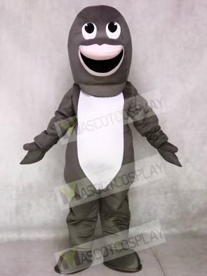 Cute Gray Shark Mascot Costumes Animal