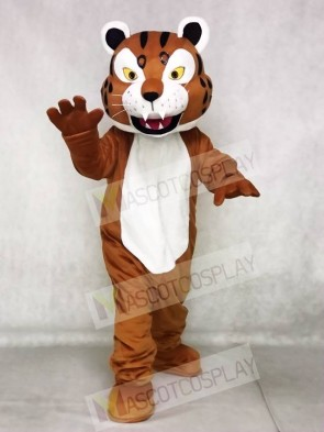 Brown Bobcat Mascot Costumes Animal